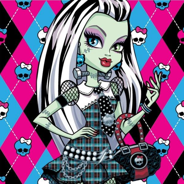 Candy Bar Monster High Kit Imprimible Etiquetas Golosinas