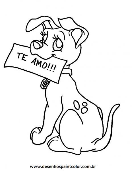 Desenho Animado Para Colorir E Imprimir