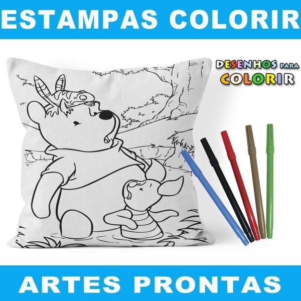Desenhos Colorir Vetores Artes Sublimação Imagens Crianças No Elo7