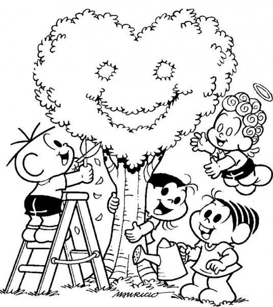 Desenhos De Paisagens Para Colorir E Imprimir