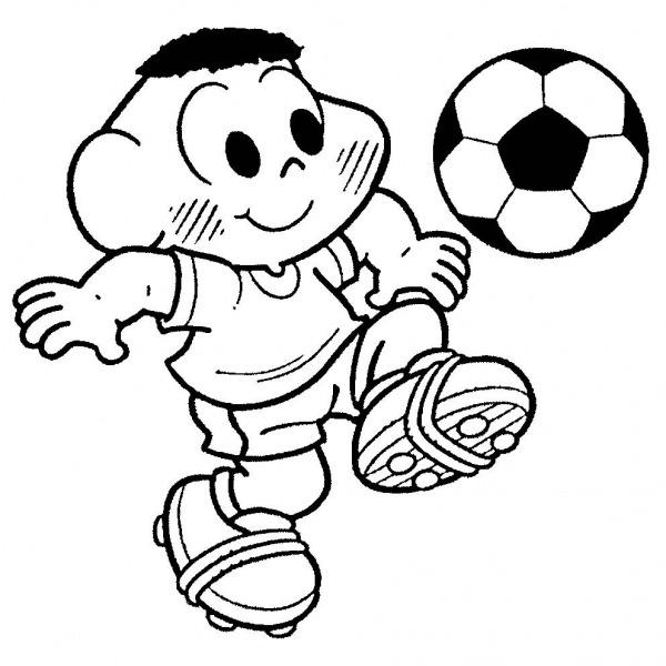Desenhos De Futebol Para Colorir – Pampekids Net