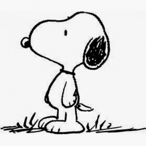 Desenhos Para Colorir Do Snoopy