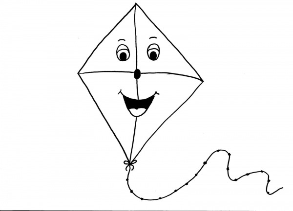 Desenhos De Pipas Para Imprimir