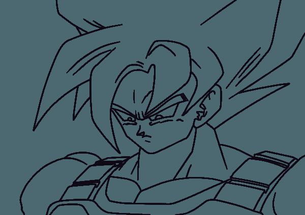 Fabio Desenhos 1 Dragon Ball Z Para Desenhar – Free Coloring Pages