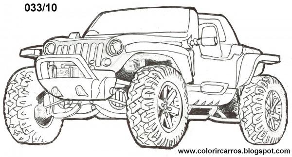 Desenhos Dos Carros Para Colorir