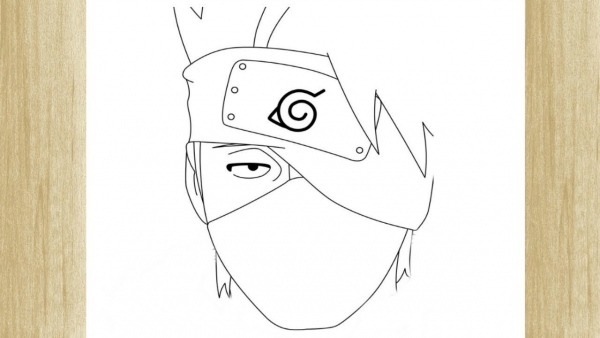 How To Draw Kakashi From Naruto     Como Desenhar O Kakashi De