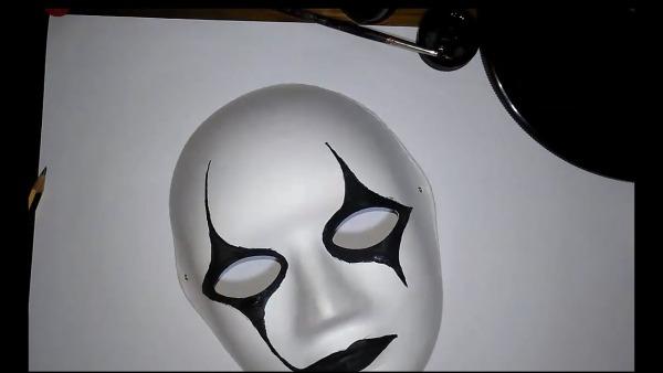 Como Fazer Uma Máscara De Halloween