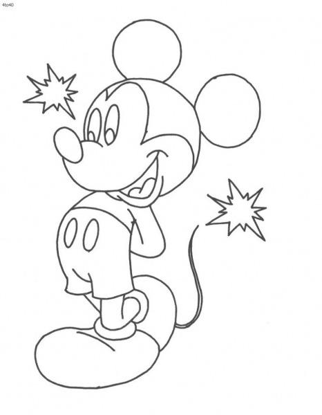 Mickey Para Colorir E Imprimir