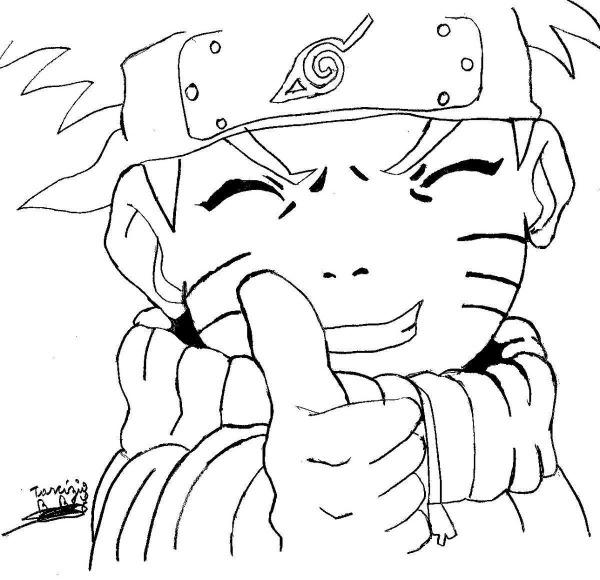 Desenhos Do Naruto Para Colorir, Imprimir Naruto
