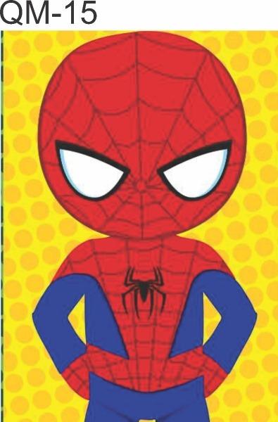 Quadro Decorativo Homem Aranha Desenho Infantil 30x22