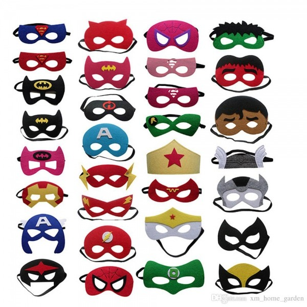 Compre Máscaras De Halloween Cosplay 103 Designs 2 Camadas De