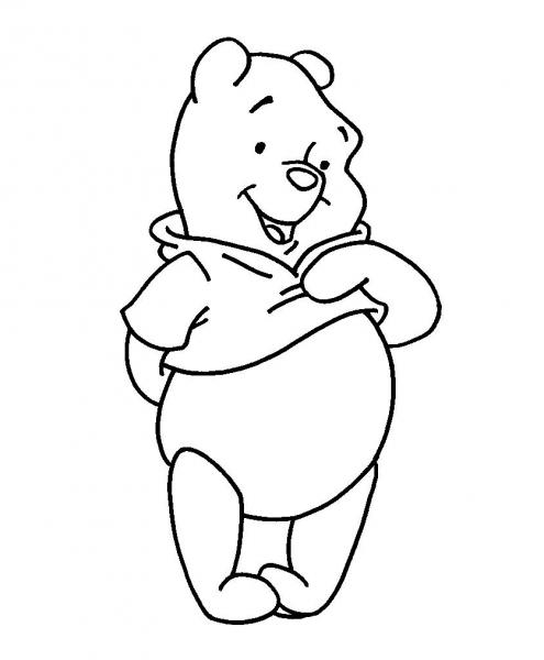 Ursinho Pooh Para Colorir – Free Coloring Pages