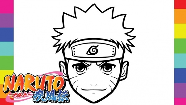 10 Desenhos De Naruto Para Baixar, Imprimir E Colorir