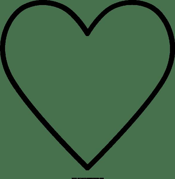 Coração Desenho Para Colorir Ultra Coloring Pages