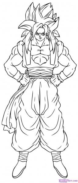 Desenhos Do Dragon Ball Para Colorir