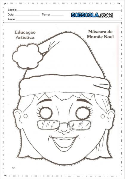 Máscaras De Natal