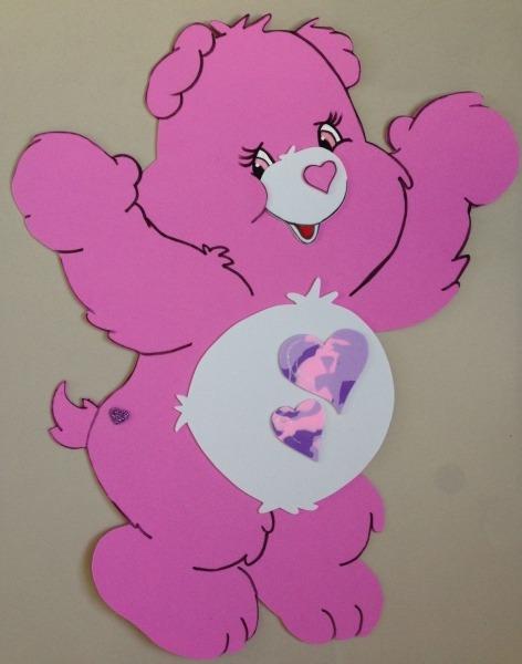 Painel 50cm Ursinhos Carinhosos, Para Decoração De Sala De Aula