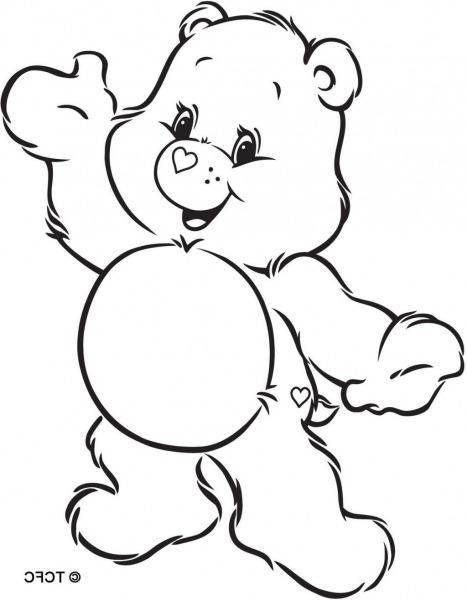 Obraz Znaleziony Dla  Care Bears Coloring