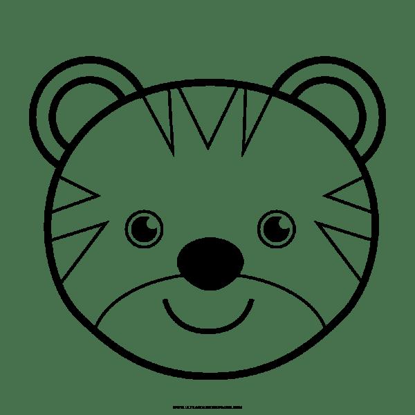 Tigre Desenho Para Colorir