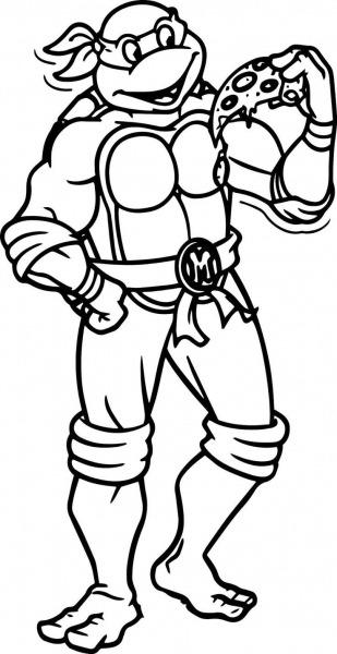 Desenhos Das Tartarugas Ninja Para Colorir Pintar Imprimir! Moldes