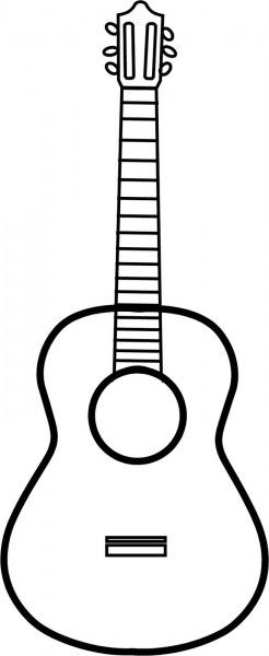 Guitar Outline
