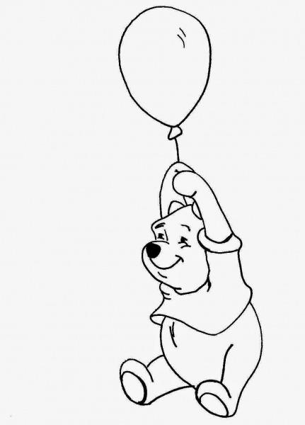 Desenhos E Riscos Do Ursinho Pooh E Sua Turma Para Colorir, Pintar