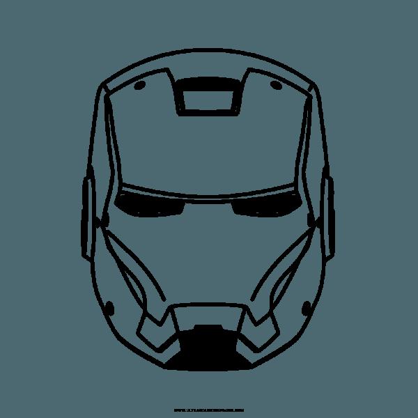 Homem De Ferro Desenho Para Colorir
