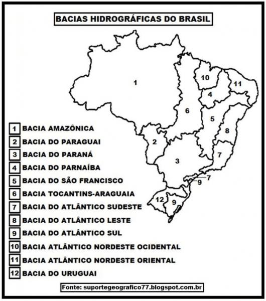 30 Mapas Do Brasil Para Colorir E Imprimir