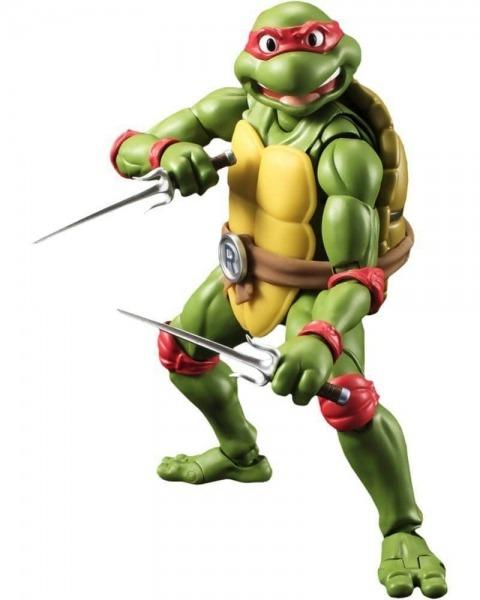 Boneco Raphael  Tartarugas Ninjas S H Figuarts
