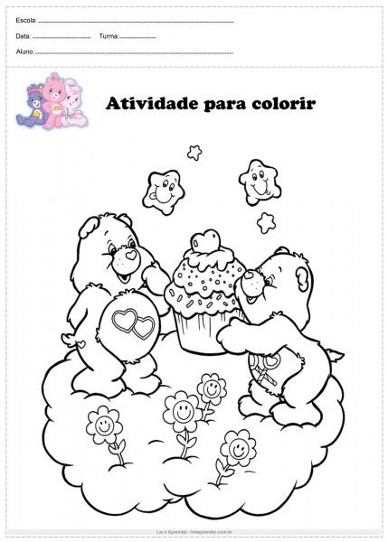 Vamos Colorir Ursinhos Carinhosos