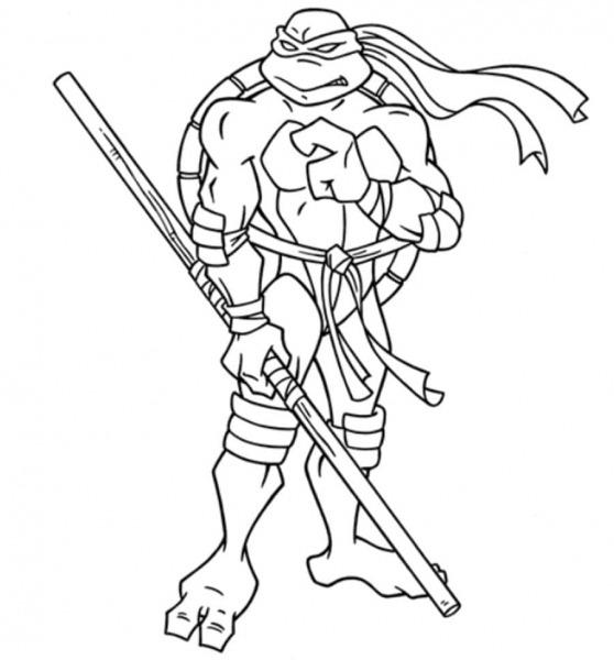 As Tartarugas Ninja Páginas Para Colorir  100 Desenhos  Imprima De