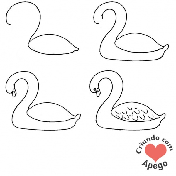 Cisne Desenho Clipart Images Gallery For Free Download