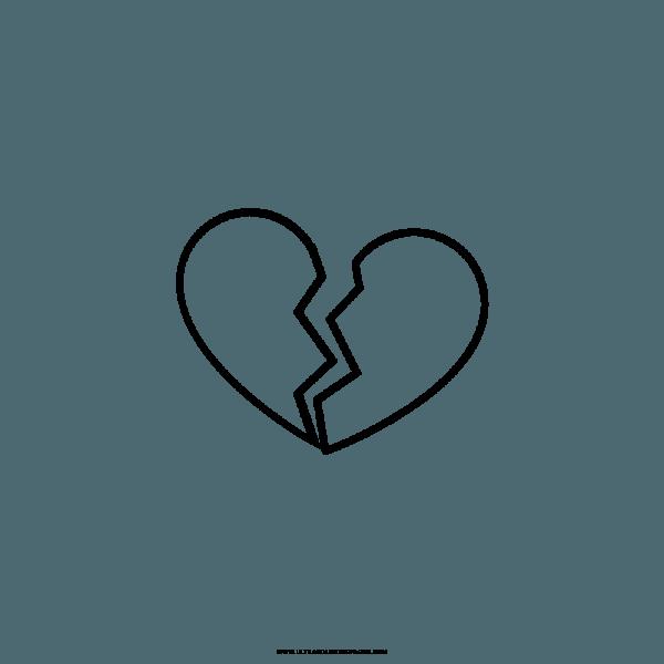 Coração Partido Desenho Png 2 » Png Image