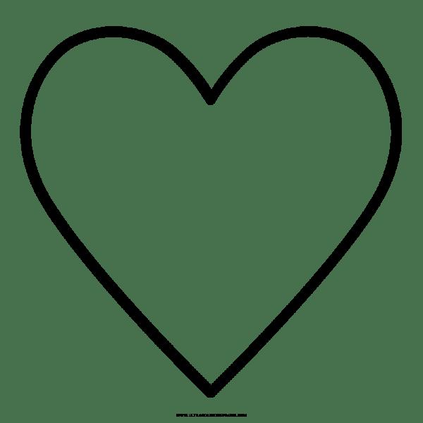 Coração Png Desenho 1 » Png Image