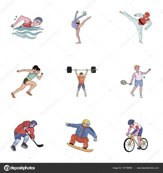 Esportes Olímpicos  Esportes De Inverno E Verão  Um Conjunto De