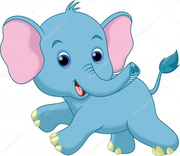 Desenho De Elefante — Vetores De Stock © Irwanjos2  53083701