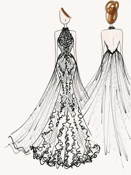 Desenho De Vestidos Clipart Images Gallery For Free Download
