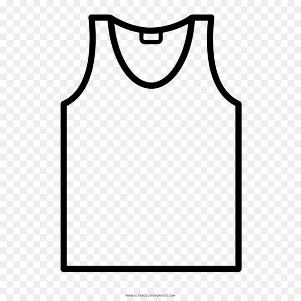 Desenho Para Colorir De Camiseta Png T