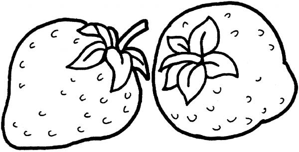 Desenhos De Morango Para Colorir E Imprimir