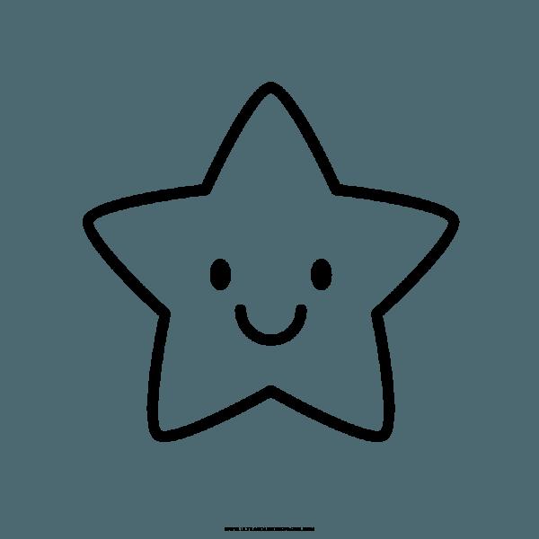 Imagem De Estrelas Para Colorir E Imprimir – Desenhos Para Colorir