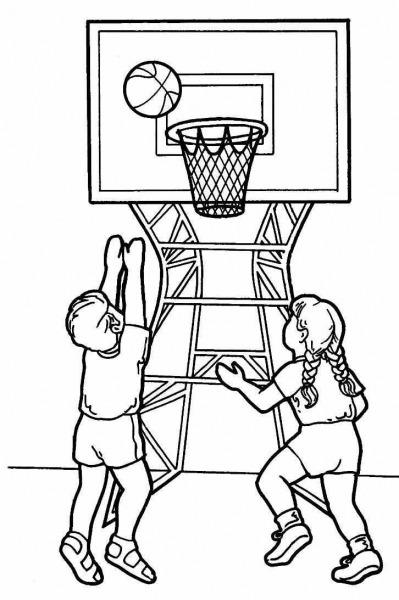 Dibujos Para Colorear Deportes 36