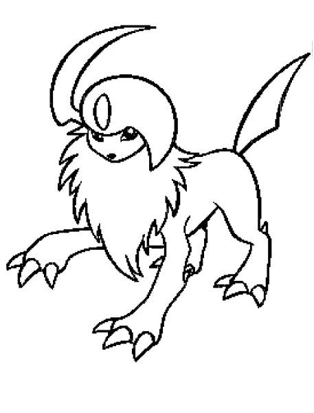 Desenho De Ice Pokemon Para Colorir