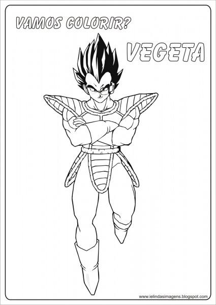Desenhos Para Imprimir Do Dragon Ball