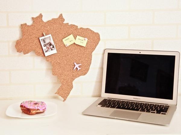 Mapa Do Brasil Em Cortiça