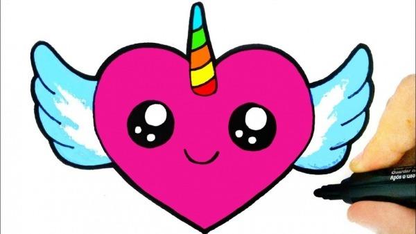 How To Draw A Heart Easy, Como Desenhar Um Coração