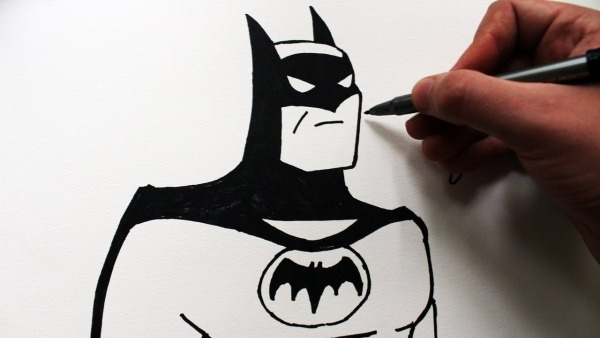 Como Desenhar O Batman [animated Series]