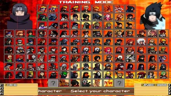 Como Baixar E Jogar Naruto Mugen Edition 2012