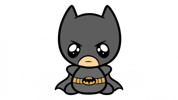 Como Desenhar O Batman Fofo (kawaii, Cute, Cavaleiro Das Trevas