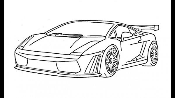 Como Desenhar Uma Lamborghini Gallardo (carro)