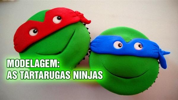 Tutorial Modelando Tartarugas Ninjas Para Cupcakes